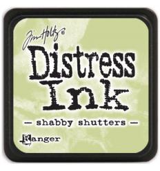 Distress Ink Mini Stempelkissen Shabby Shutters - Tim Holtz