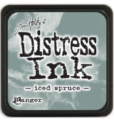 Distress Ink Mini Stempelkissen Iced Spruce - Tim Holtz