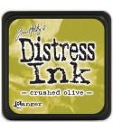 Distress Ink Mini Stempelkissen Crushed Olive - Tim Holtz