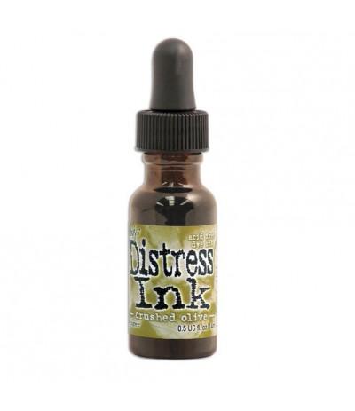 Distress Ink Nachfüllfarbe Crushed Olive - Tim Holtz