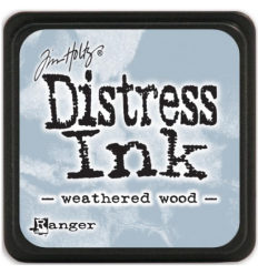 Distress Ink Mini Stempelkissen Weathered Wood - Tim Holtz