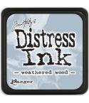 Distress Ink Mini Stempelkissen Weathered Wood - Tim Holtz