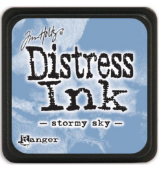 Distress Ink Mini Stempelkissen Stormy Sky - Tim Holtz