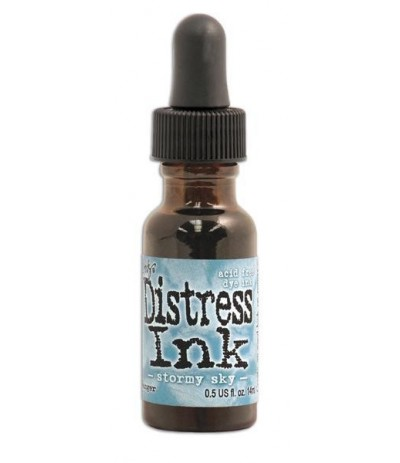 Distress Ink Nachfüllfarbe Stormy Sky - Tim Holtz