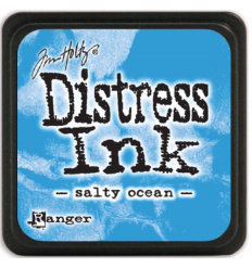 Distress Ink Mini Stempelkissen Salty Ocean - Tim Holtz
