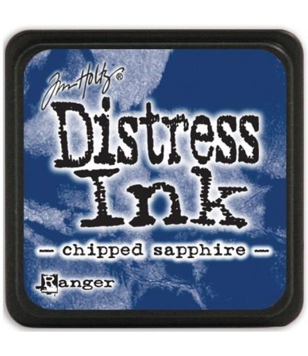 Distress Ink Mini Stempelkissen Chipped Sapphire - Tim Holtz