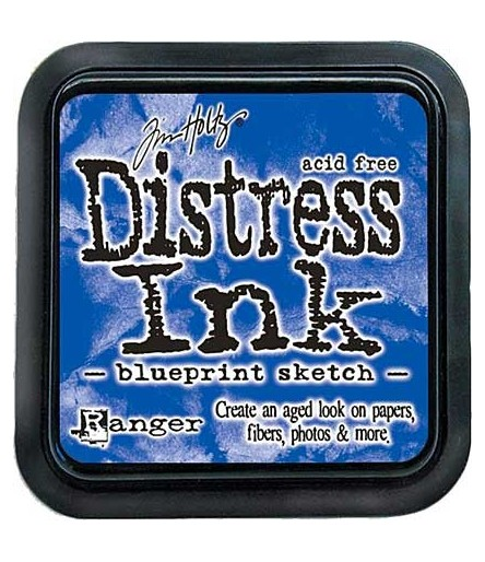 Distress Ink Mini Stempelkissen Blueprint Sketch - Tim Holtz