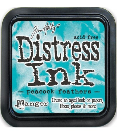 Distress Ink Mini Stempelkissen Peacock Feathers - Tim Holtz