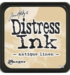 Distress Ink Mini Stempelkissen Antique Linen - Tim Holtz