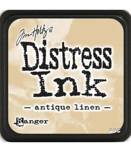 Distress Ink Mini Stempelkissen Antique Linen - Tim Holtz