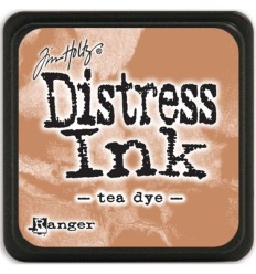 Distress Ink Mini Stempelkissen Tea Dye - Tim Holtz