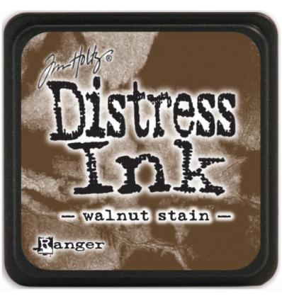 Distress Ink Mini Stempelkissen Walnut Stain - Tim Holtz
