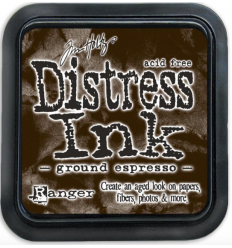 Distress Ink Mini Stempelkissen Ground Espresso - Tim Holtz