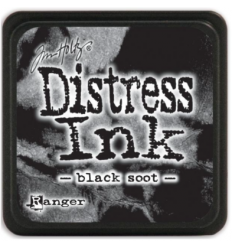 Distress Ink Mini Stempelkissen Black Soot - Tim Holtz