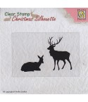 Clear Stamp Reindeer - Nellie's Choice