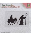 Clear Stamp Nativity - Nellie's Choice