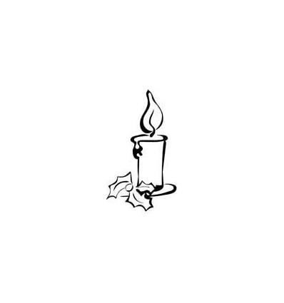 Kerze Stempel