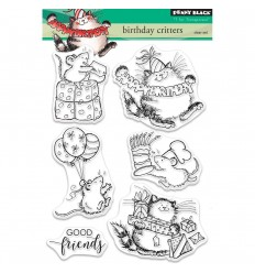 Clear Stamps Birthday Critters - Penny Black