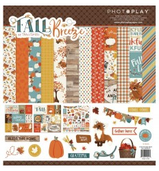 "Scrapbooking Papier Fall Breeze, 12"" X 12"" - Photo Play"