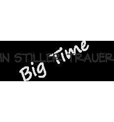 In stiller Trauer Stempel auf EZ Mount - Big Time