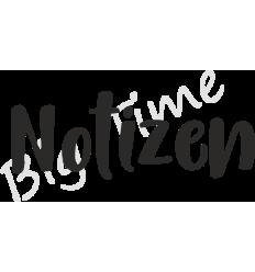 Notizen Stempel auf EZ Mount - Big Time