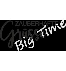 Zauberhafte Grüsse Stempel auf EZ Mount - Big Time