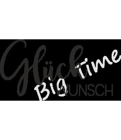 Glückswunsch Stempel auf EZ Mount - Big Time