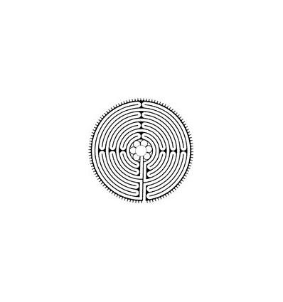 Labyrinth von Chartres Stempel