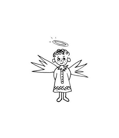 Bueb-Engel Stempel
