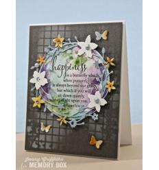 Stanzschablone Mini Butterflies - Memory Box