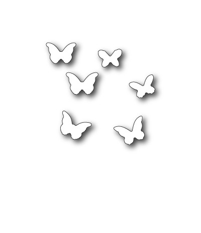 Stanzschablone Mini Butterflies - Memory Box