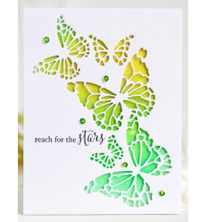 Stanzschablone Reverse Butterfly - Memory Box