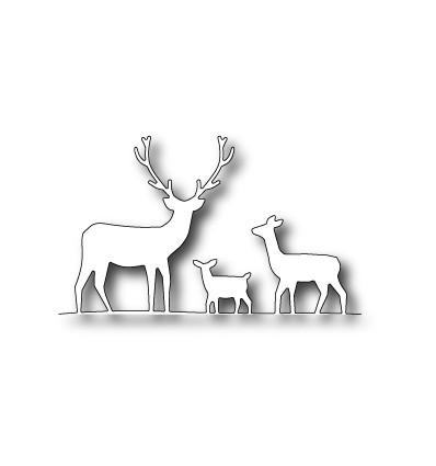 Stanzschablone Deer Trio - Memory Box