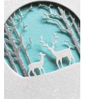 Stanzschablone Deer Family Circle - Memory Box