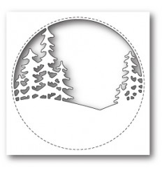 Stanzschablone Stitched Circle Trees - Memory Box
