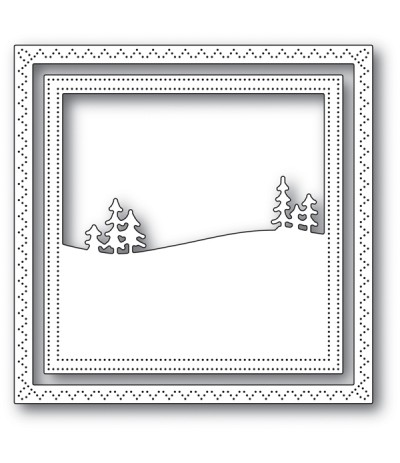 Stanzschablone Meadowtree Frame - Memory Box