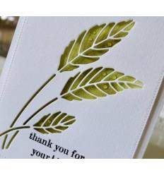 Stanzschablone Gentle Leaf Collage - Poppy Stamps