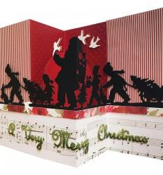 Stanzschablone Santa Parade - Spellbinders