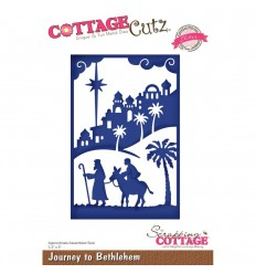 Stanzschablone Journey To Bethlehem - Cottage Cutz