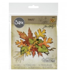 Stanzschablonen Fall Foliage - Tim Holtz