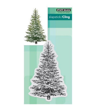 Cling Stempel Winter Tree - Penny Black