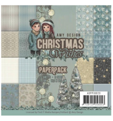 Scrapbooking Papier Christmas Wishes von Amy Design