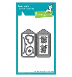 "Stanzschablonen ""Say What ? Gift Tags"" von Lawn Fawn"
