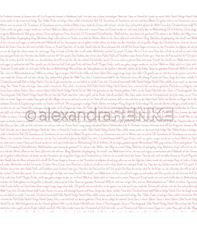 """Scrapbookingpapier """"kleine Weihnachtstypo rot """" von Alexandra Renke"""