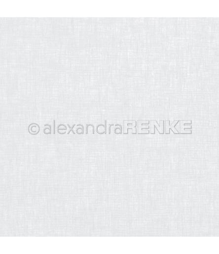 Scrapbooking Papier Leinenstruktur Lenas Grau von Alexandra Renke