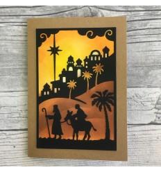 Stanzschablone Journey To Bethlehem - Cottage Cutz