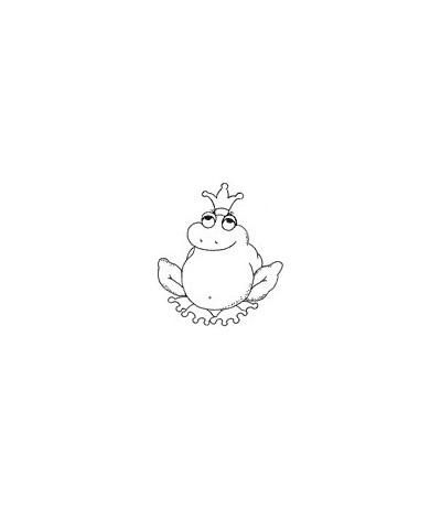 Froschkönig Stempel
