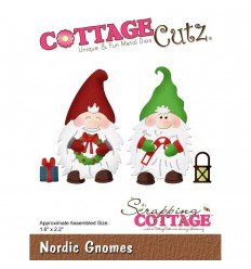 Stanzschablone Nordic Gnomes - Cottage Cutz