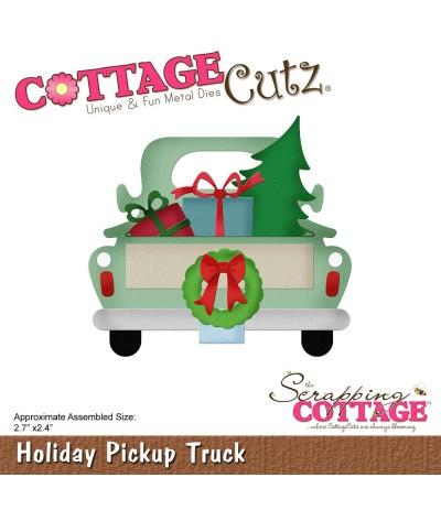 Stanzschablone HolidayPickup Truck - Cottage Cutz