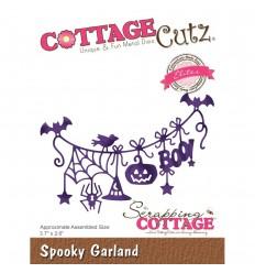 Stanzschablone Spooky Garland - Cottage Cutz